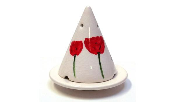 lampe merlin blanche d cor coquelicot bruler la poudre de bois de cade. Black Bedroom Furniture Sets. Home Design Ideas